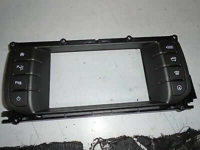 range rover evoque display screen surround with switches LR070669