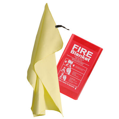 Fiberglass Fire Blanket Emergency Survival Flame Retardant Safety 1.2x1.2m