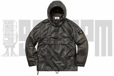 9bc9bcb624a3 Supreme Stone Island POLY COVER COMPOSITE ANORAK L BLACK pullover jacket  hooded