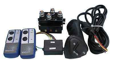 12v HD Contactor solenoid & Wireless & Wired Remote suit recovery winch controls
