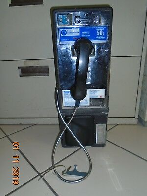 PTS Payphone Pay Phone Pacific Telemanagement Services Man cave Decoration