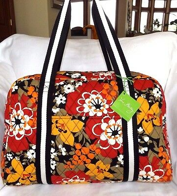 f0ec98f91cd3 VERA BRADLEY Sport Duffel Bag with Yoga mat sleeve - BITTERSWEET - Carry  On- NWT