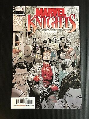 MARVEL KNIGHTS 20TH #1 1st Print Cover A Daredevil Punisher VF/NM