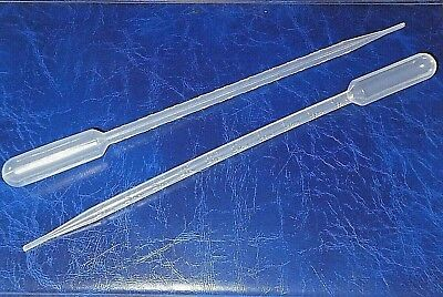 "MULE 10ml Laboratory Pipette graduated with 1ML increments 2 pack 11.5"" long"
