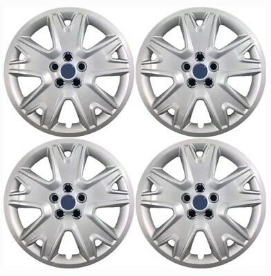 New 2013,2014,2015,2016 Ford Escape 17 inch Wheel Covers Hubcaps SET of 4 Silver