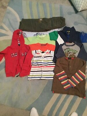 Boys Age 3-4 Years Clothes Bundle Mainly Next 10 Items. - Great Condition