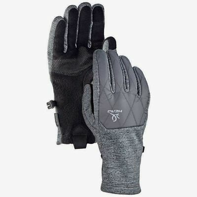 New Womens HEAD Hybrid Gloves SENSATEC Touch Technology Black/Grey Various Sizes