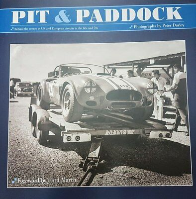 Pit & Paddock - Unseen 60s & 70s European Motor Racing Images (Limited Slipca...