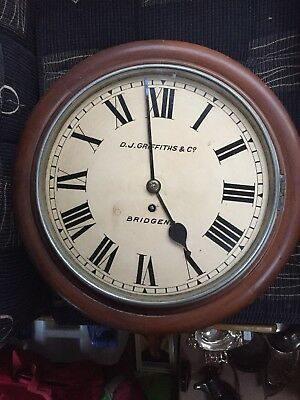 Good Old Winterhalter & Hoffmeir English  Style Fusee Dial Wall Clock Bridgend