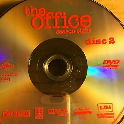 The Office Season 8(Dvd) Replacement Disc # 2