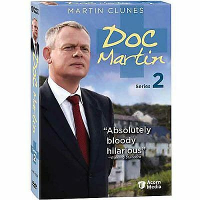 Doc Martin: Series 2 - All 6 Episodes on 3 DVDs - Region 1 (US & Canada)