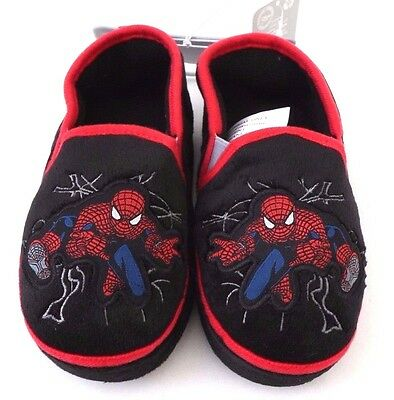 Boy/'s Girl/'s Children/'s Red /& Black Plaid Houseshoes Slippers NWT