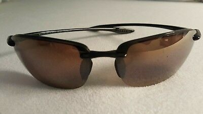 e04182271e MAUI JIM HO'OKIPA MJ-407-02 64[]17-130 Black Sunglasses (Made in ...