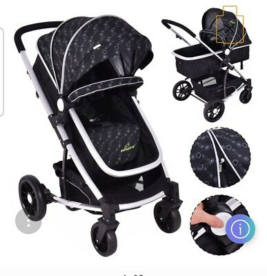 Costway 2 In1 Foldable Baby Stroller Kids Travel Newborn Infant Buggy Pushchair