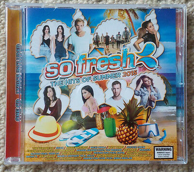 So Fresh - The Hits Of Summer 2015 - Various Artists - CD COMPILATION [USED/VGC]