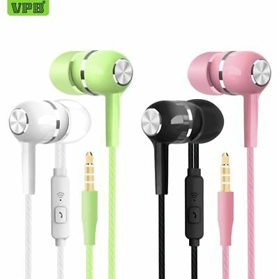 Earphone wholesale Wired Super Bass 3.5mm Crack Colorful Headset