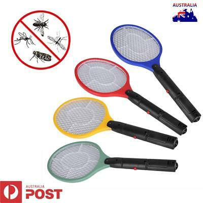 Bug Zapper Racket Electric Mosquito Fly Swatter Killer Insects Bat Handheld