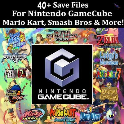 Ultimate Gamecube Memory Card | 40+ Save Files | EVERYTHING UNLOCKED *Card Only*