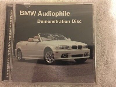 BMW Audiophile Demonstration Disc