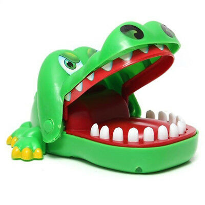 Small Size Crocodile Mouth Dentist Bite Finger Game Funny Toy Kids Children Gift