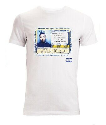 ODB Album Cover Ol Dirty Bastard Ticket For Food Stamps men's t shirt white top