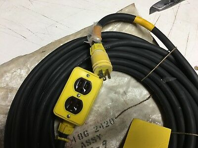 Cable Assembly 50 Ft 12/3 Type So 600 Volts