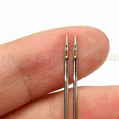 3Pcs Durable Stainless Steel Double Twin Needle For Sewing Machines New