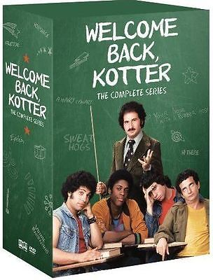 Welcome Back Kotter DVD Complete Series Collection, Seasons 1,2,3,4 (Aus)