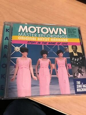 Motown Original Artist Karaoke CDG Stop In The Name Of Love Used Once