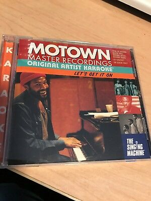 Motown Original Artist Karaoke CDG Let's Get It On Used Once
