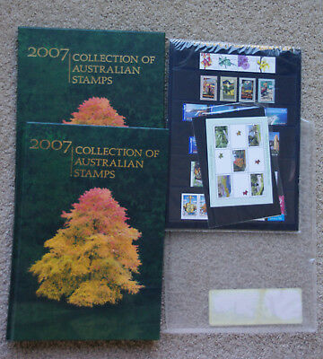 Australian Stamp Yearbook 2007 Collection Deluxe Ed Book cost $80