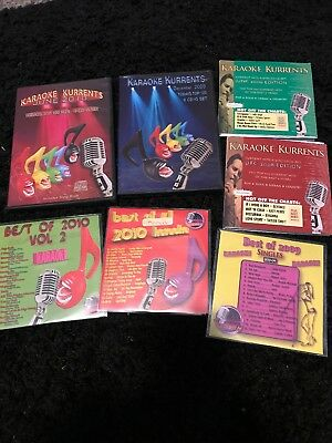 Karaoke Kurrents CDG 27 Disc Collection 2008-2009-2010