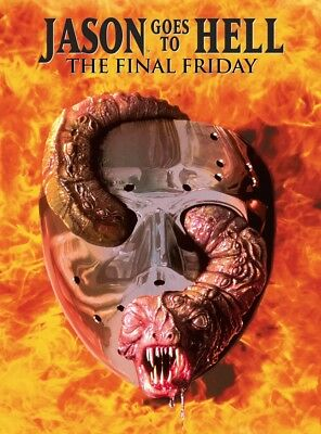 Freitag der 13. - Jason Goes to Hell - 2-Disc Limited Mediabook [Blu-ray+DVD]