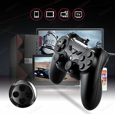 Wired Gamepad Game Controller USB Vibration Motor Game Handle For Smart TV PC