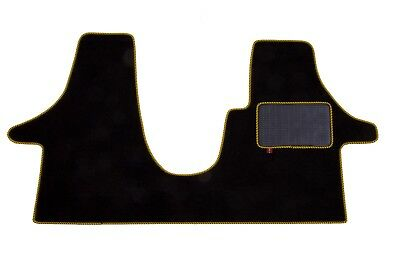 VW Transporter t6 Cab mat in high quality automotive carpet