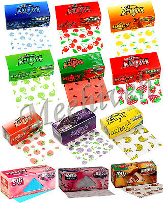 Juicy Jays Big Size Rolls Flavoured Roll Smoking Rolling Papers Fruity Flavors