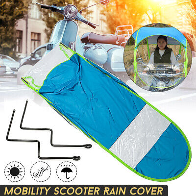 80CM Mobility Scooter Sun&Rain Cover Universal Car Motor Scooter Blue