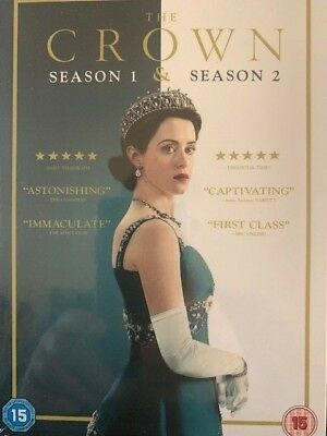 The Crown Season 1 & 2 Brand New Sealed