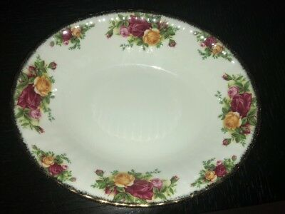 """Royal Albert Old Country Roses Oval Vegetable Serving Bowl 9"""""""