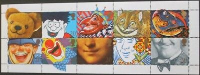 """Smiles"" greetings stamps, Dennis the Menace, GB, 1990, SG ref: 1483-1492, MNH"