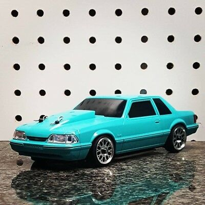 Foxbody Mustang Lx Coupe Rc Car 1 28 190 00 Picclick