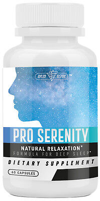Best Natural Sleep Pills Formula, Stress & Anxiety Relief - Relaxes Mind & Body