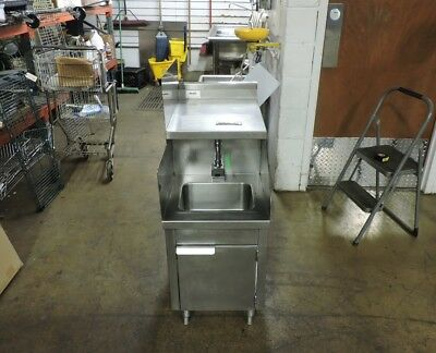 Commercial Stainless Steel 1-Compartment Sink w/ Electric Faucet
