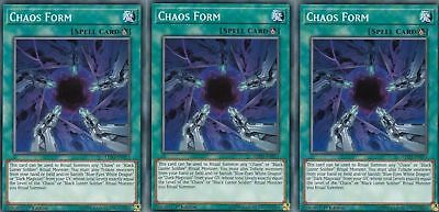 3x Chaos Form - LED3-EN011 - Common - YGOMARKET.COM