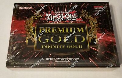 Yu-Gi-Oh! Premium Gold 1st Edition Factory Sealed