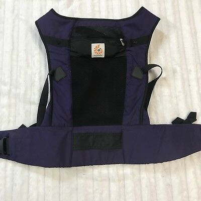 b2cb6d2558a ERGOBABY PERFORMANCE 3 Position Baby Carrier Ventus Purple EUC ...