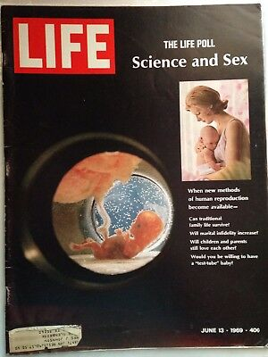 June 13 1969 Science and Sex Human Reproduction    Life Magazine Vintage