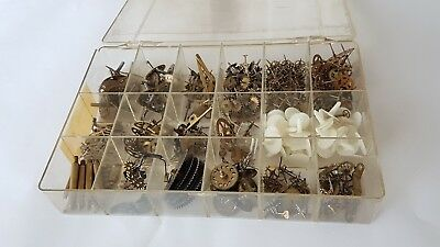 Assorted Clock Parts for Arts & Crafts,Steampunk etc