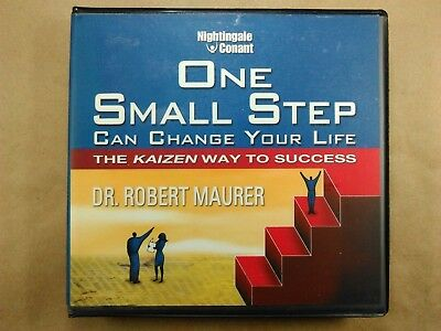 One Small Step... by Dr. Robert Maurer - 8 CD set - Nightingale Conant