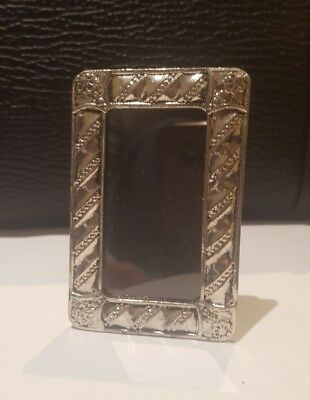 Art Nouveau Small Silver Plated Photo Frame